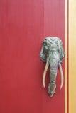 铁大象 免版税图库摄影