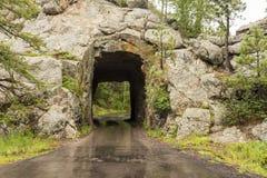 铁小河隧道 库存图片