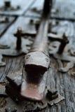 铁敲门人, 图库摄影