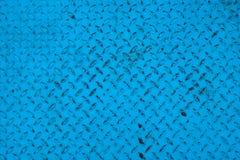 铁板材蓝色颜色纹理 免版税库存图片