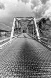 铁桥梁在亚利桑那 库存照片