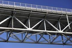 铁桥梁 库存图片
