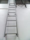 铁楼梯 免版税库存图片
