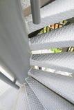 铁楼梯 免版税图库摄影