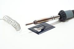 铁焊接 免版税库存图片