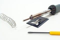 铁焊接 库存照片