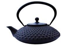 铁猪茶壶 免版税图库摄影