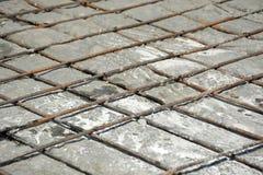 铁电枢和混凝土 免版税库存图片