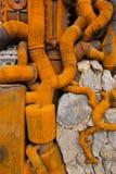 铁管子 图库摄影