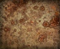 铁老生锈的时间 免版税图库摄影