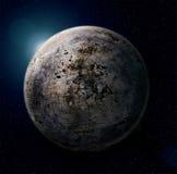 铁行星 免版税库存图片