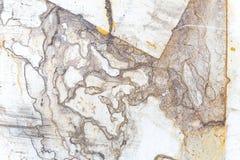 铁表面上的铁锈污点 库存照片