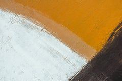 铁表面用老油漆纹理背景报道 免版税图库摄影