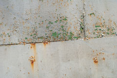 铁表面用老油漆纹理背景报道 库存照片