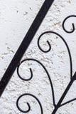 铁装饰品 免版税库存图片