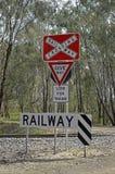 铁路。 库存照片
