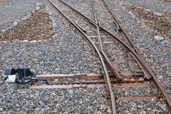 铁路切换 库存图片