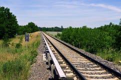 铁路向柏林 库存图片
