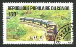 铁路和火车,活动Bb 103 库存图片