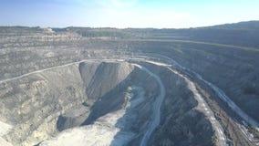 铁路和路围拢主要石棉坑大峡谷 股票视频