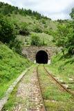 铁路和隧道 库存照片