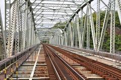 铁路在日本 图库摄影