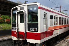 铁路在日本 库存照片