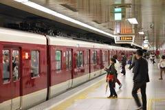 铁路在日本 库存图片