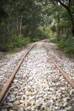 铁路在Lithgow澳大利亚 免版税库存照片