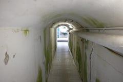 铁路地下过道 库存照片