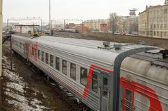 铁路培训 免版税库存照片