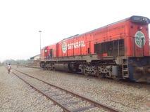 铁路局的发展在彻特D ` IVOIRE 免版税库存图片
