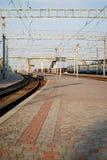 铁路平台 库存图片