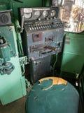 铁路技师` s视图 库存照片