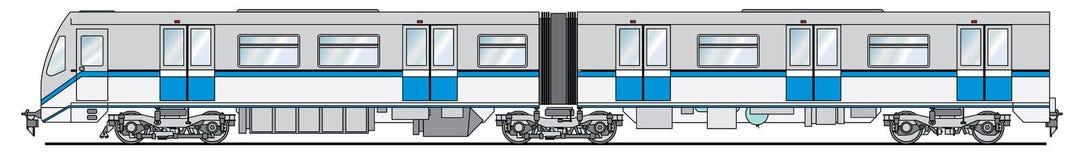 铁路支架- 81-740 - Rusich 免版税库存照片