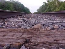 铁路方式 库存照片