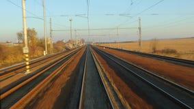 铁路旅行视图 影视素材