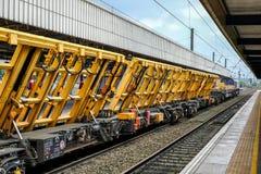 铁路机械 免版税库存图片