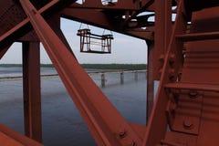 铁路桥梁3 免版税库存图片