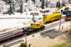 铁路模型 免版税图库摄影