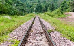 铁路泰国 库存图片