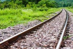 铁路泰国 免版税图库摄影
