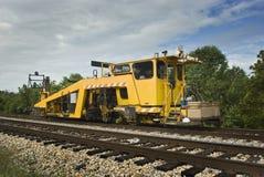 铁路生产切换堵塞器 免版税库存图片