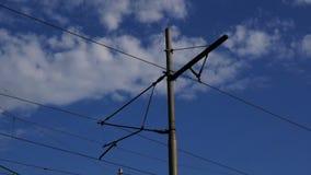 铁路电定向塔 影视素材