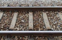 铁路的看法 免版税库存照片