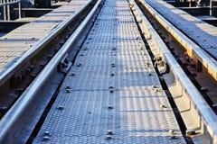 铁路第一 免版税图库摄影