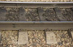 铁路线 免版税库存图片