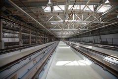 铁路维护和工厂 库存图片