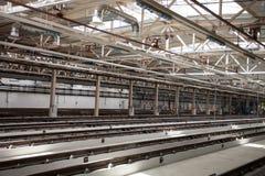 铁路维护和工厂 库存照片