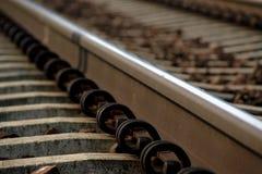 铁路跟踪 库存图片